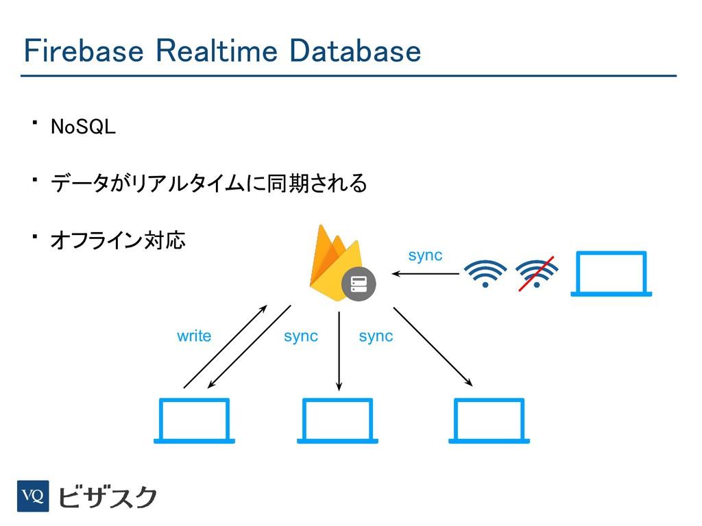 Firebase Realtime Database • NoSQL • データがリアルタイ...