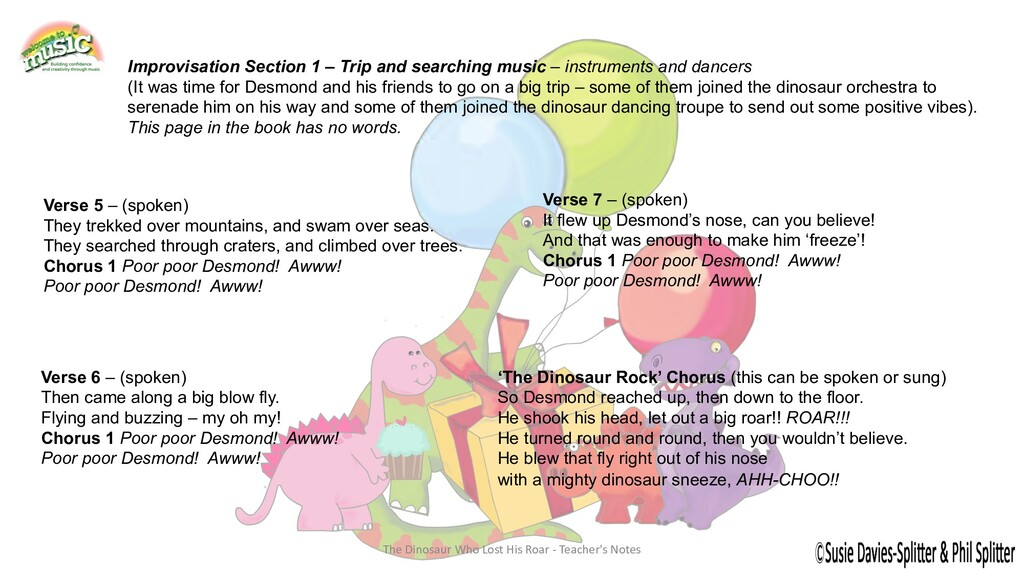Improvisation Section 1 – Trip and searching mu...