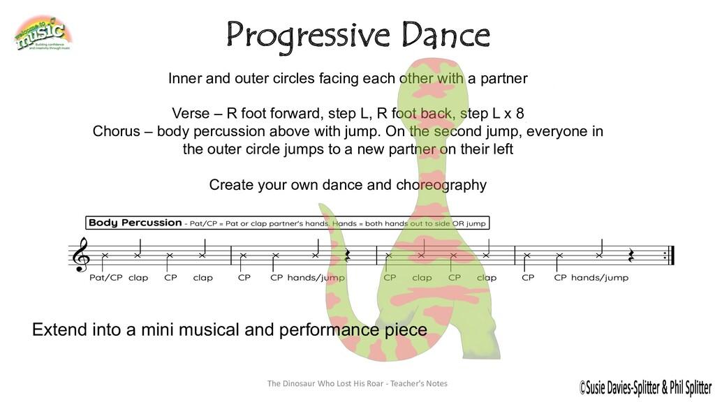 Progressive Dance The Dinosaur Who Lost His Roa...