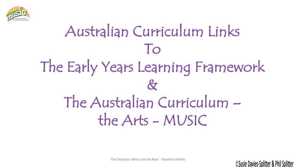 Australian Curriculum Links To The Early Years ...