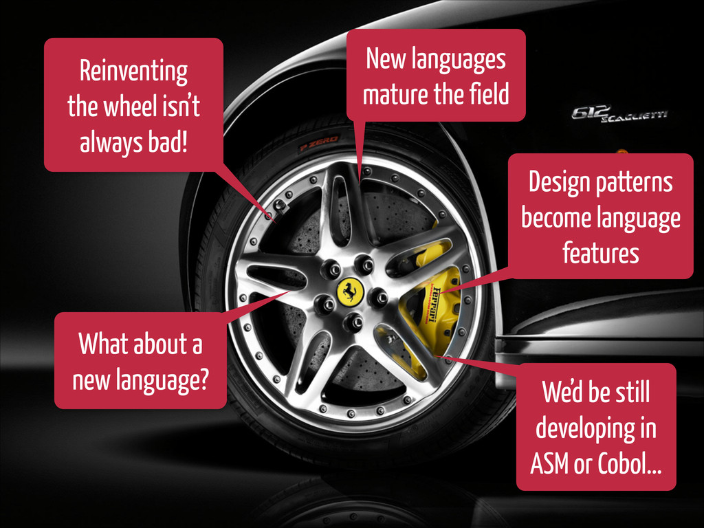 Reinventing the wheel isn't always bad! New lan...