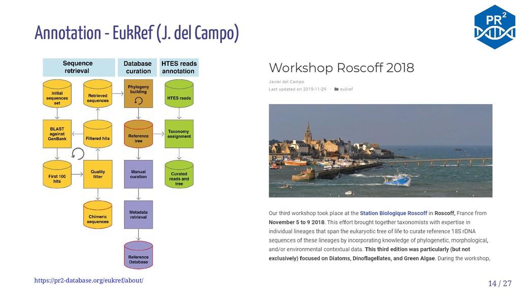 Annotation - EukRef (J. del Campo) https://pr2-...