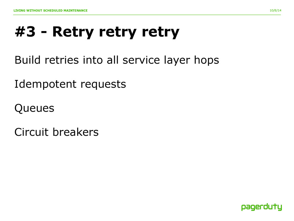 10/8/14 #3 - Retry retry retry LIVING WITHOUT S...