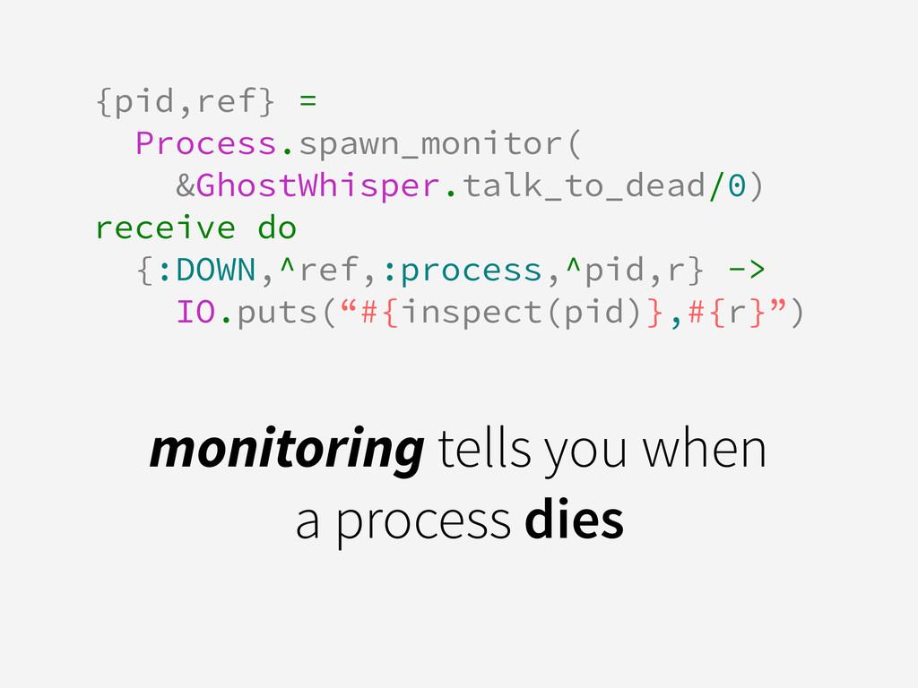 {pid,ref} = Process.spawn_monitor( &GhostWhispe...