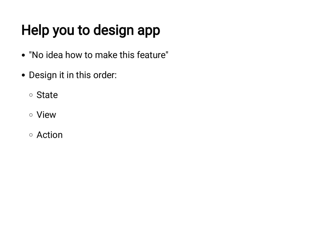 "Help you to design app ""No idea how to make thi..."
