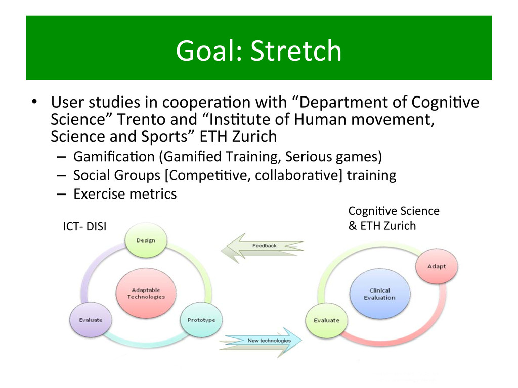 Goal:	