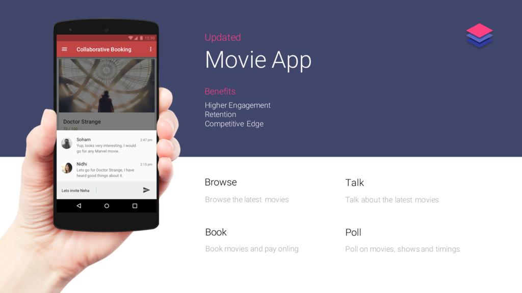 Updated Movie App Higher Engagement Retention C...
