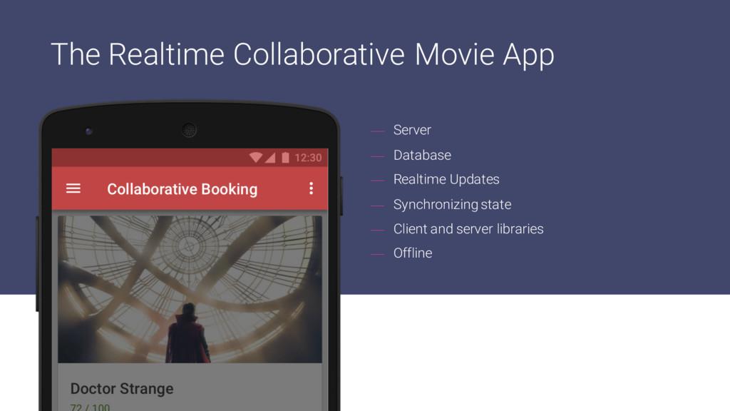 — Server — Database — Realtime Updates — Synchr...