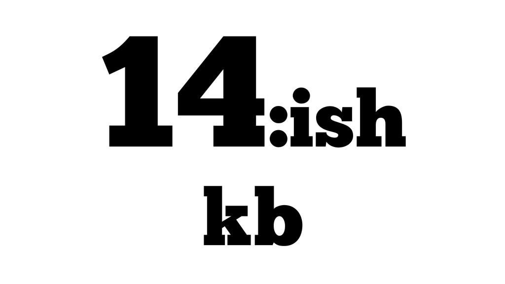 14:ish kb