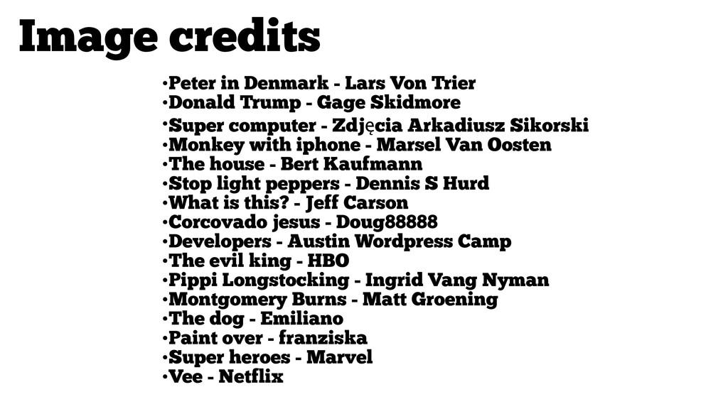 •Peter in Denmark - Lars Von Trier •Donald Trum...