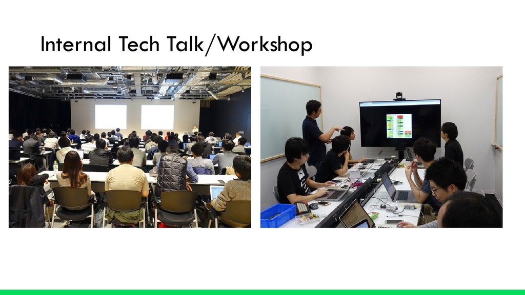 Internal Tech Talk/Workshop