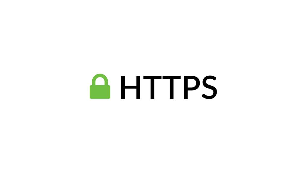 ! HTTPS