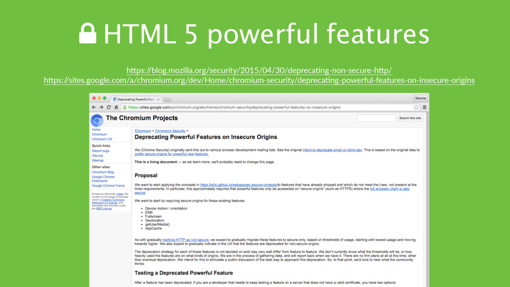 ! HTML 5 powerful features hTps:/ /blog.mozilla...