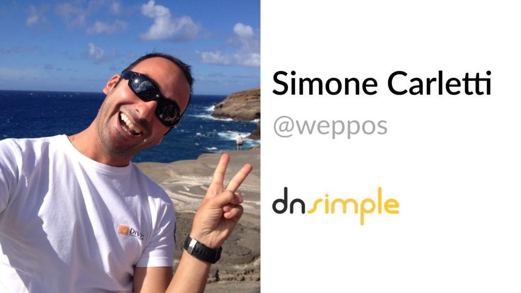 Simone Carle4 @weppos