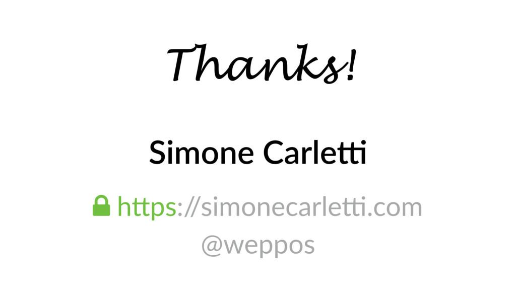 Simone Carle4 ! hTps:/ /simonecarlep.com @weppo...