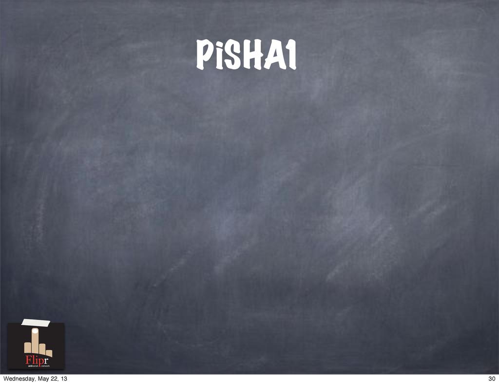 PiSHA1 antisocial network 30 Wednesday, May 22,...