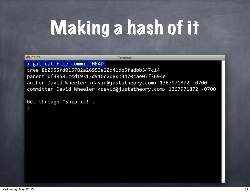 """> """"""""git""""cat*file""""commit""""HEAD tree""""8b0955fd01578..."""