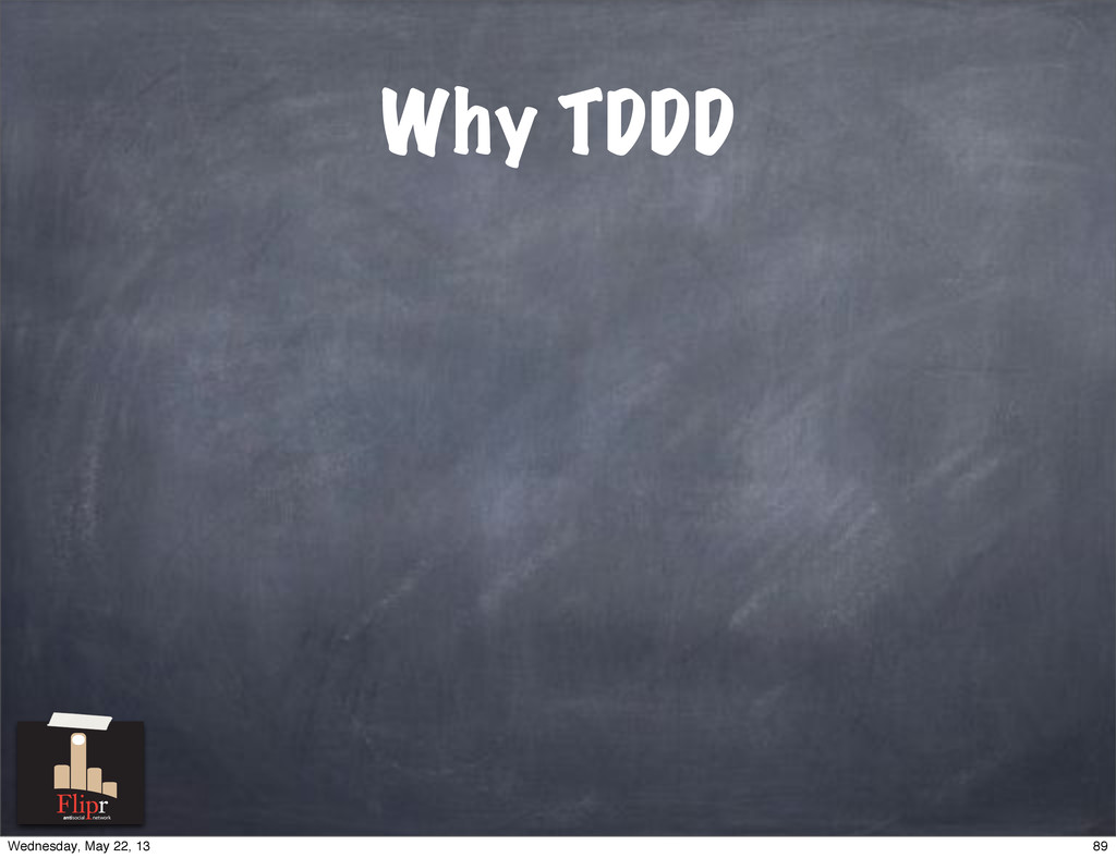 Why TDDD antisocial network 89 Wednesday, May 2...