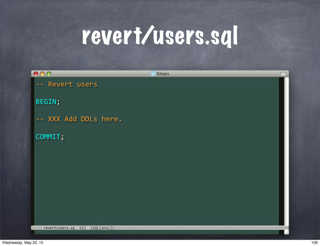 "revert/users.sq revert/users.sql **""Revert""user..."
