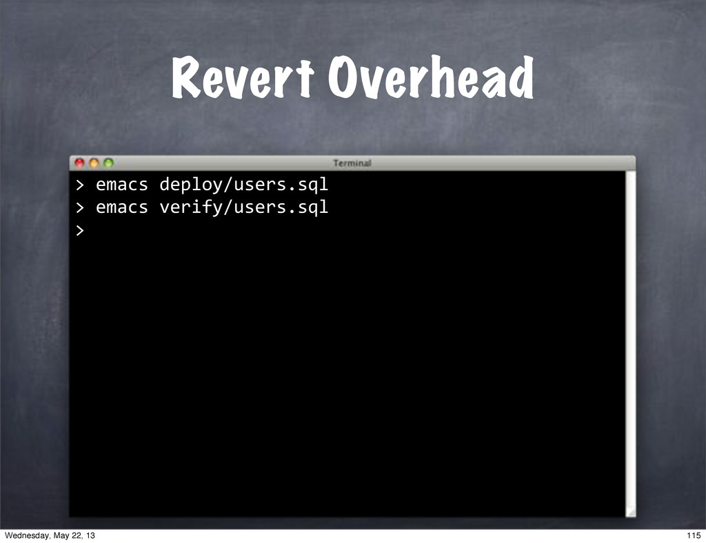 "Revert Overhead >""emacs""deploy/users.sql >""emac..."