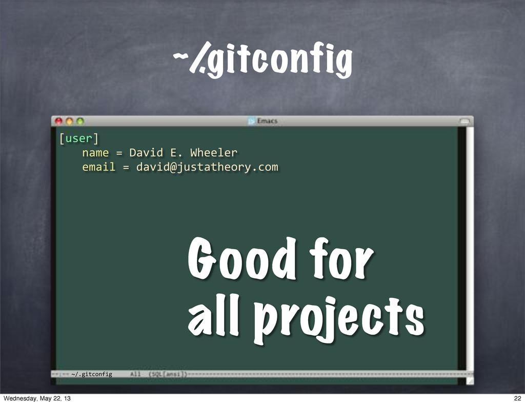 """~/.gitconfig ~/ .gitconfig [user] """""""" name""""=""""Dav..."""