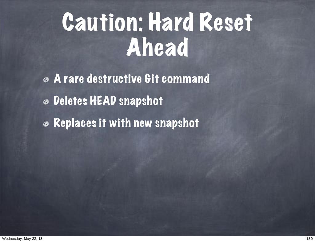 Caution: Hard Reset Ahead A rare destructive Gi...