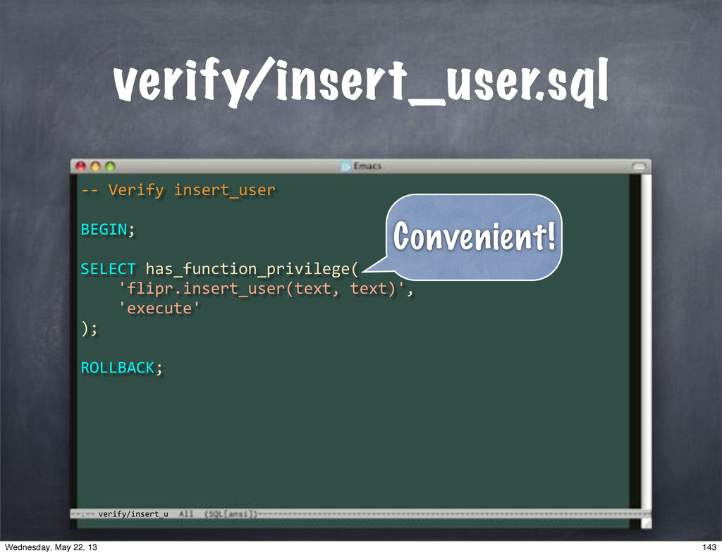 "verify/insert_u verify/insert_user.sql **""Verif..."