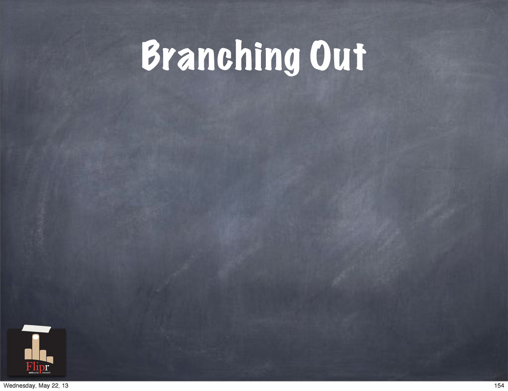 Branching Out antisocial network 154 Wednesday,...