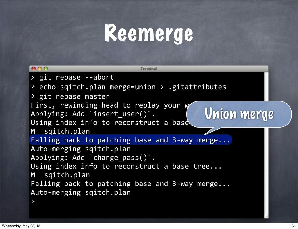 """""echo""sqitch.plan""merge=union"">"".gitattributes..."