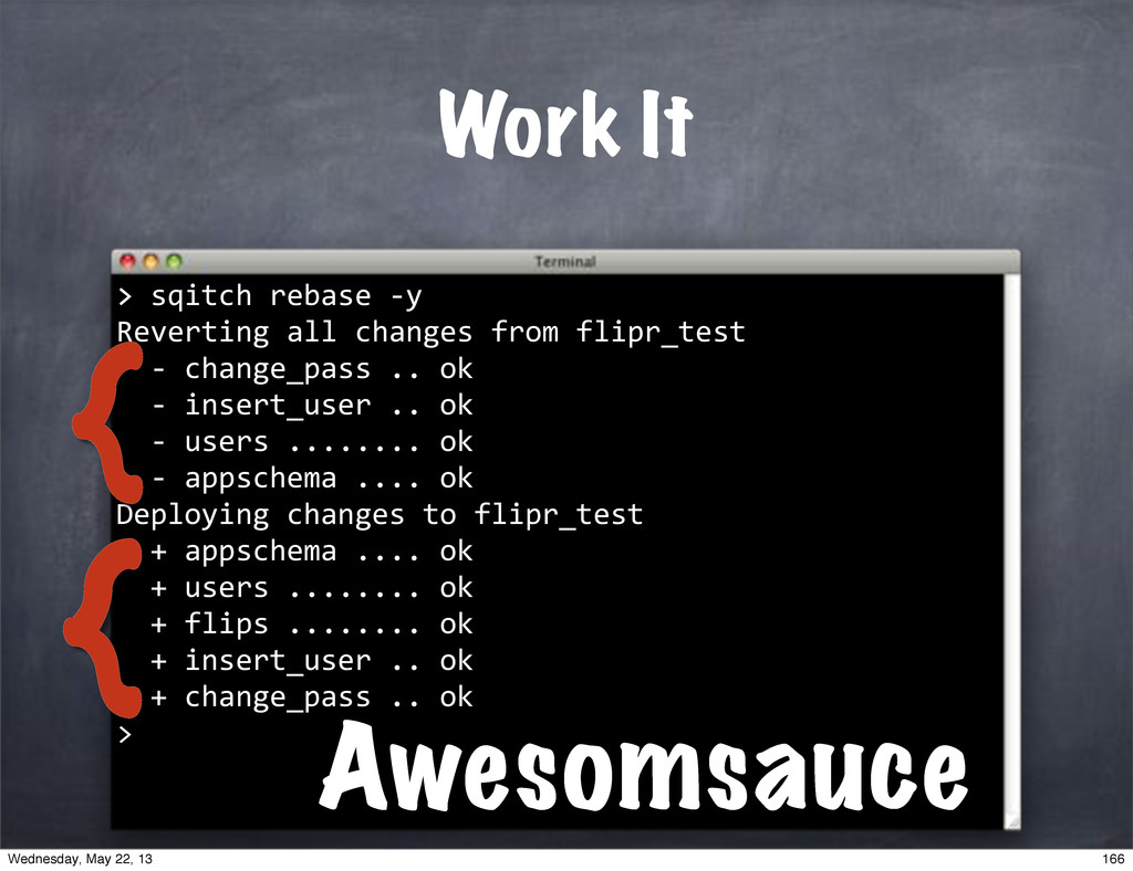 ">""sqitch""rebase""*y Reverting""all""changes""from""f..."