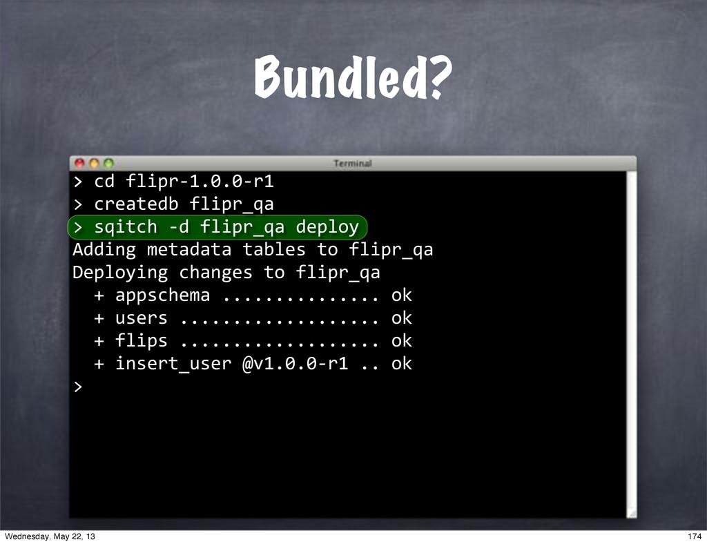 """""""""""createdb""""flipr_qa"""" > >""""cd""""flipr*1.0.0*r1 > Bu..."""