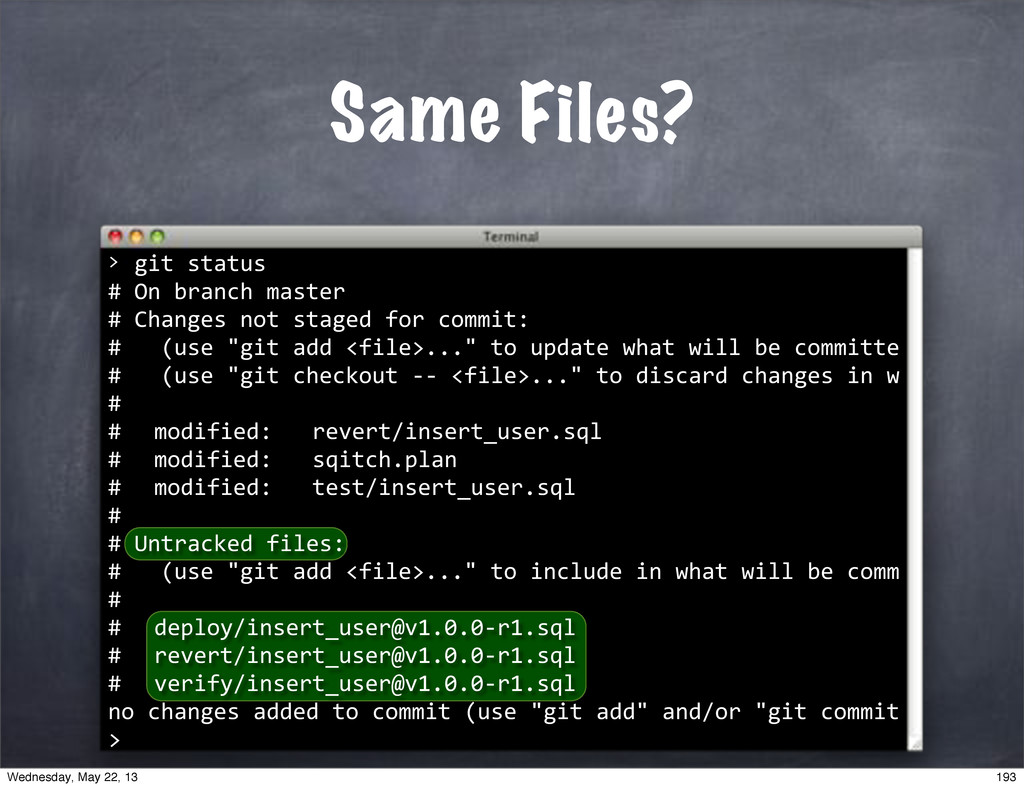 """""git""status #""On""branch""master #""Changes""not""s..."