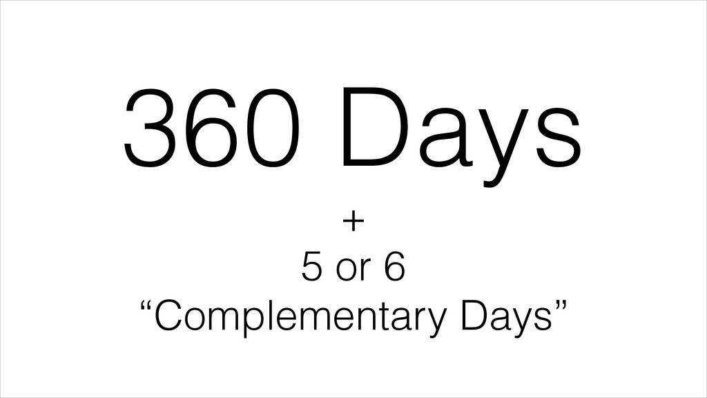 360 Days + 