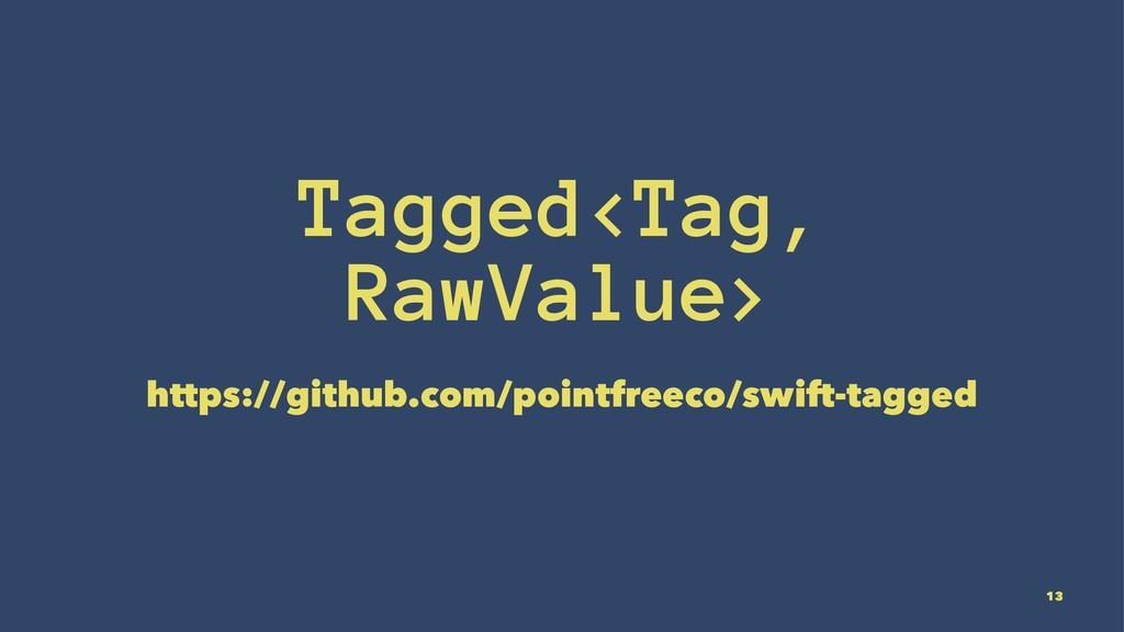 Tagged<Tag, RawValue> https://github.com/pointf...