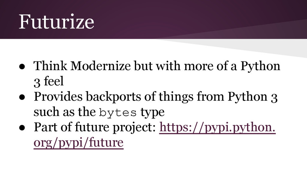 Futurize ● Think Modernize but with more of a P...