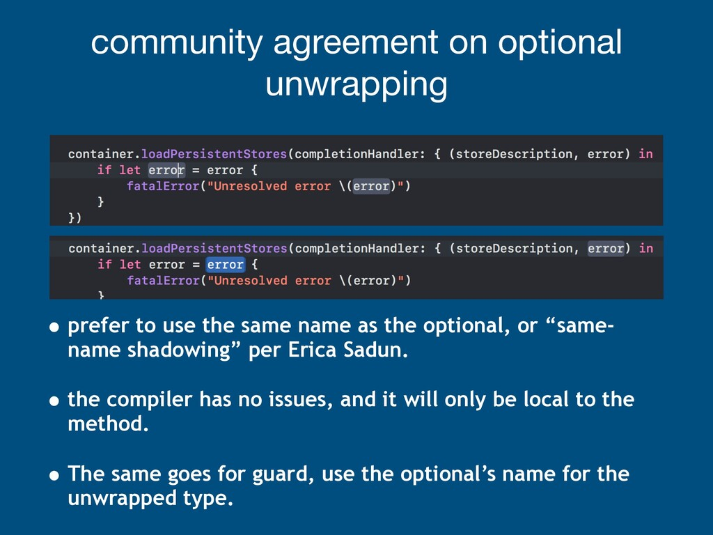 community agreement on optional unwrapping • pr...