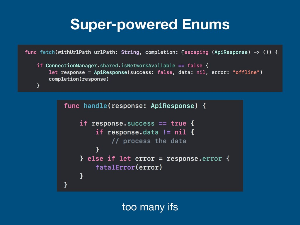 Super-powered Enums too many ifs