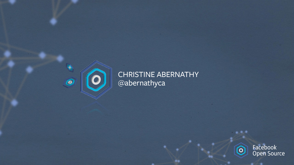 CHRISTINE ABERNATHY @abernathyca