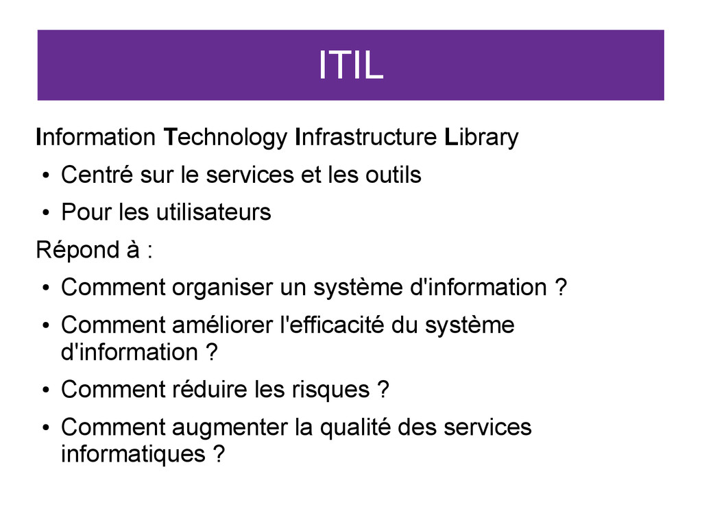 ITIL Information Technology Infrastructure Libr...