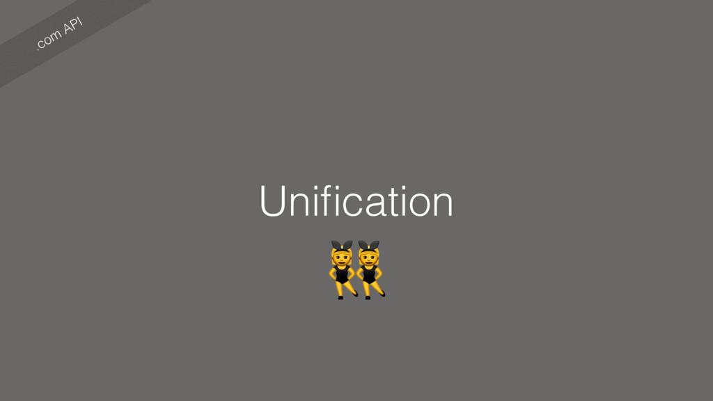 .com API Unification