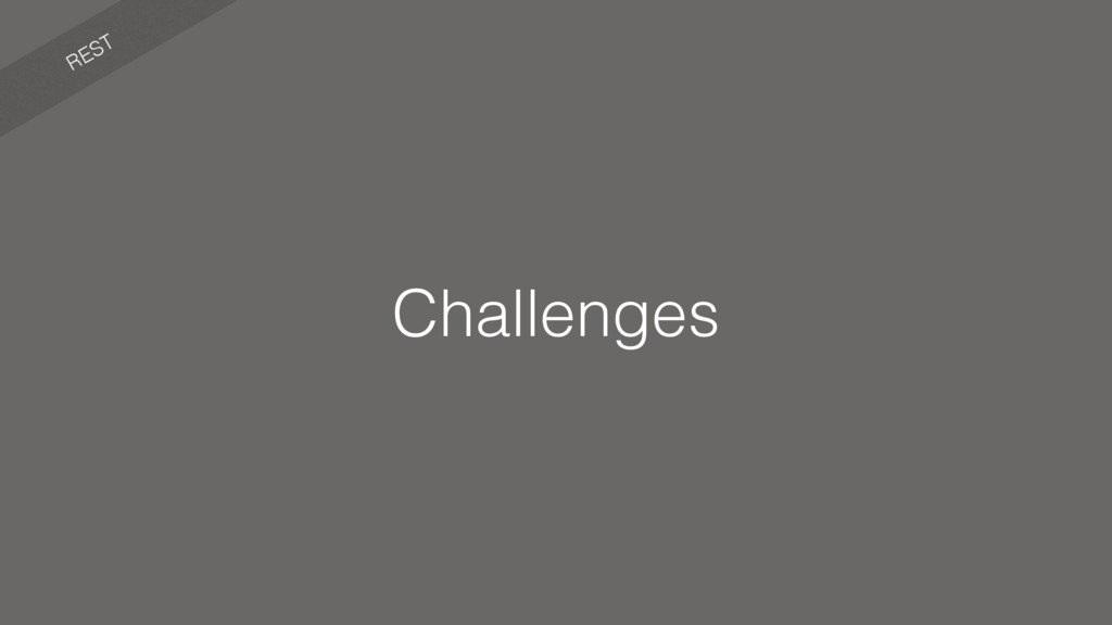 REST Challenges
