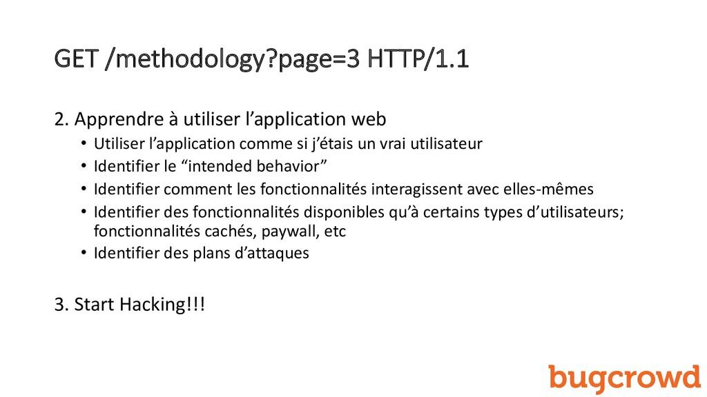 GET /methodology?page=3 HTTP/1.1 2. Apprendre à...