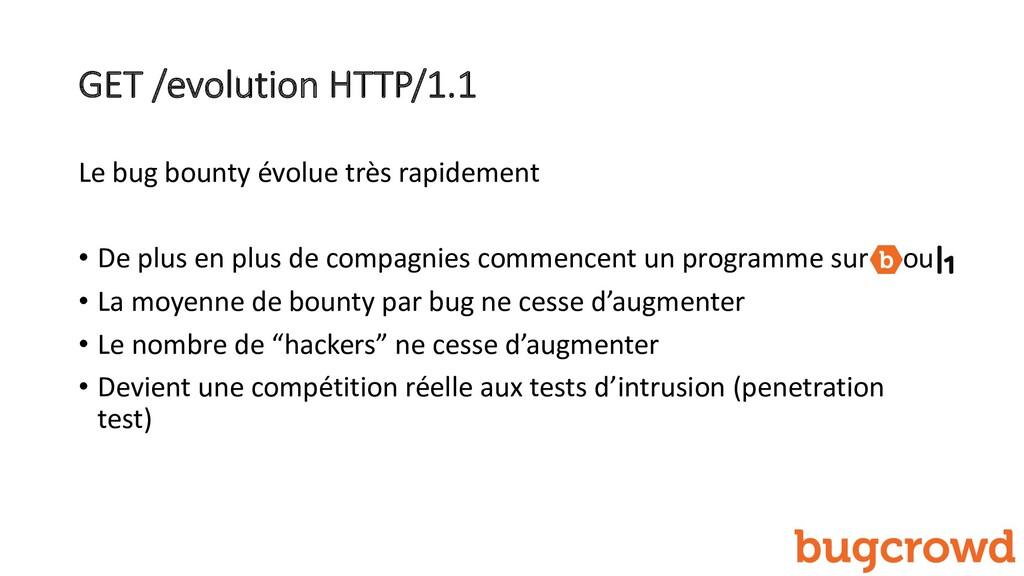 GET /evolution HTTP/1.1 Le bug bounty évolue tr...