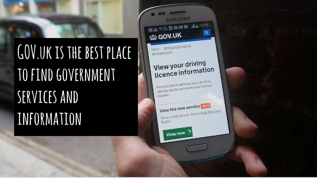 GOV.uk is the best place to find government ser...