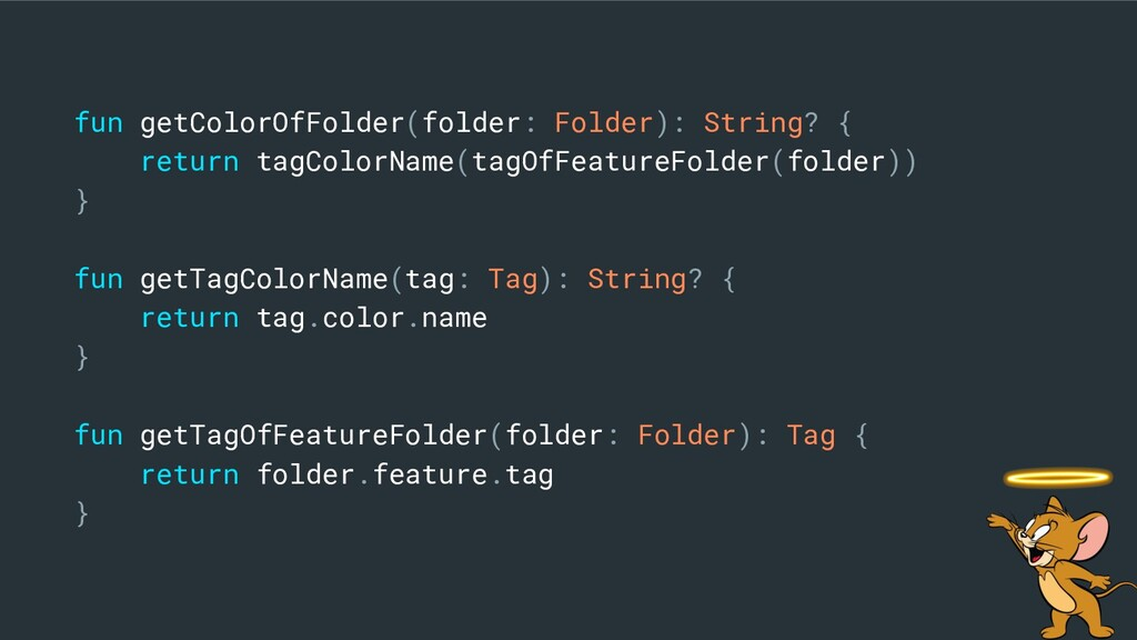 fun getColorOfFolder(folder: Folder): String? {...