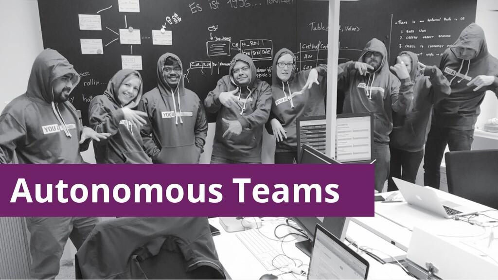 Autonomous Teams
