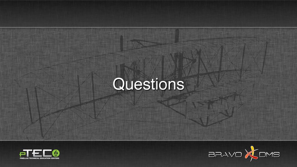 BRAVO DMS BRAVO DMS Questions