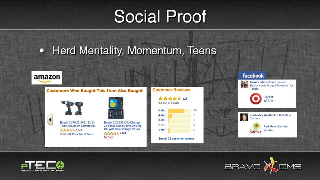 BRAVO DMS BRAVO DMS Social Proof • Herd Mentali...