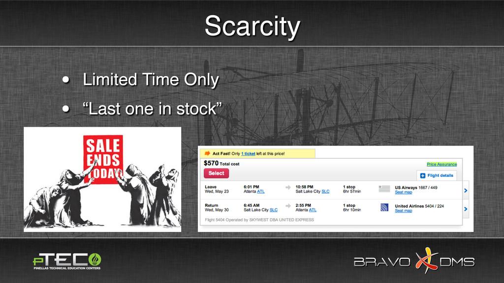 BRAVO DMS BRAVO DMS Scarcity • Limited Time Onl...