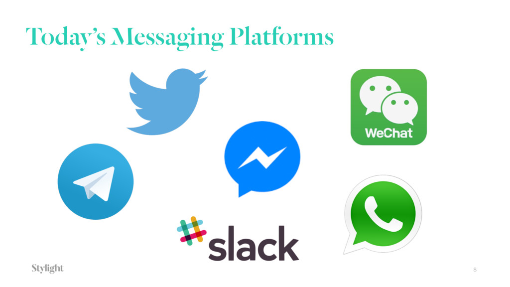 Today's Messaging Platforms 8